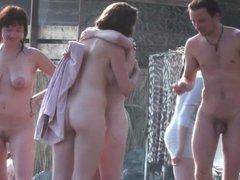 big natural boobs beach public nudity
