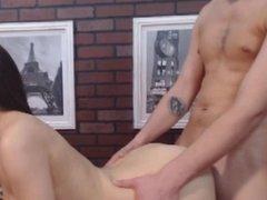 Wild Hardcore Sex of Horny Amateur Couple