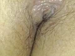 Fingering and fucking wife's beautiful pussy