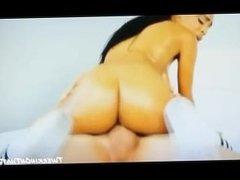 black teen twerking on dick perfect ass & tits twerkin on that dick riding