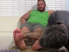 Young boy gay sexs film first time Aaron Bruiser Lets Me Worship His Big