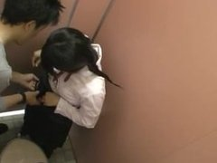 Japanese School-Girl Jerking Off A Japanese School-Boy