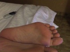 Whipping Asian feet and soles for lying to me