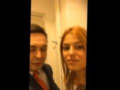 Video porno di Andrea Diprè con Sara Tommasi (pompino + mestruazioni)