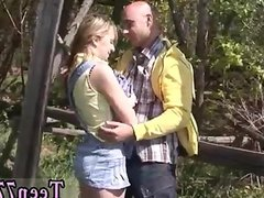 Teen 02 and cute teen public creampie Abby