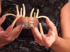 ASMR long nails Elena