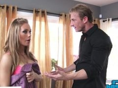 Blonde babe Nicole Aniston fucks her friend's brother - Naughty America