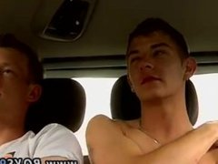 Teen gays and lady boys sex first time Justin and Mark pick up another