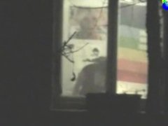 Voyeur Neighbor Peeping Window