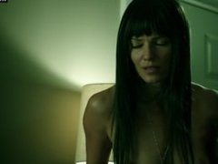 Ivana Milicevic - Sex Scene, Girl on Top, Small Boobs - Banshee S02e10