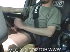 Smoke Drive And Wank Big Cock