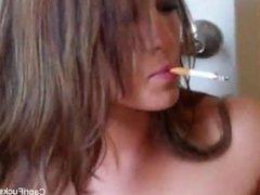 Capri Cavanni - Smoking Masturbation
