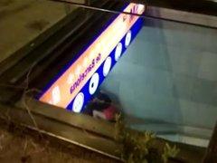 chupando metro Barcelona