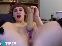 A Sexy Seductive BDSM Mistress Trains a Sissy