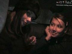 Alice & Katia & Valentina Picking Up Alice.avi