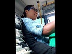 Girls Look  Dick In Combi-1 FAT GIRL (No de mi auditoria)