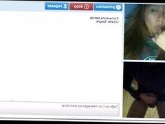 Teen want suck my dick in webcam random chat