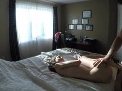 Hot chick both holes penetrated featured