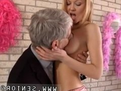 Old man young ebony anal Jennys social worker is visiting her today and