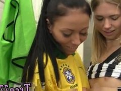 Amateur teen monster cock first time Brazilian player pulverizing the