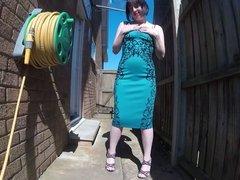 cocktail dress catwalk strut