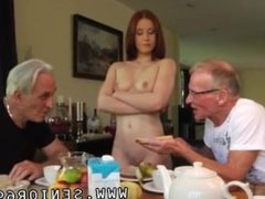Girl sex and hardcore gangbang first time Minnie Manga slurps breakfast