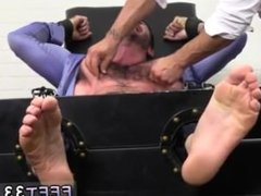 Gay men feet fetish videos Billy Santoro Ticked Naked