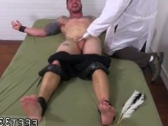 First time gay foot rub Clint Gets Naked Tickle Treatment