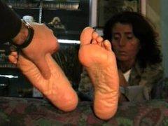 Milf Foot massage.