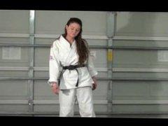 Cindy - psycho karate girl (real kicks and punches)