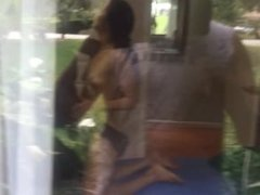 All The NEighbors Know Yoga Hotwife Cuckolds Hubby With BBC
