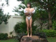 FDD  Nok White Swimsuit