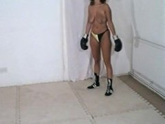 wives topless boxing
