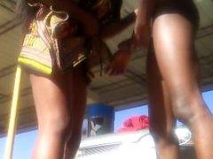 African Princess Upskirt