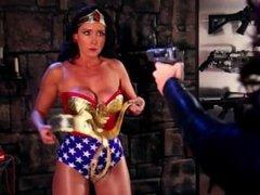 CC Wonder Woman bondage by Paris Kennedy