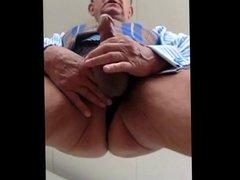 hot daddy wanking