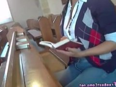 Real Amateur Curvy Slut Masturbates In Public Church To Extreme