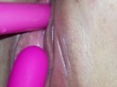 Cum pouring out of my pussy