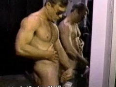 Macho Cop Strips And Plays With His Cock