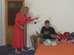 Mother in law seduces him