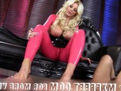 Mistress makes Slave worship Feet!