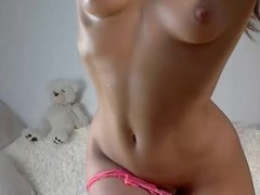 Cute teen getting toyed with a lovense on cam