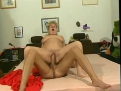 big breast granny -hairy pussy - do you like her?