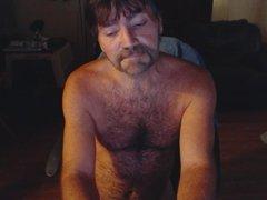 Huge cumshot spray on chest