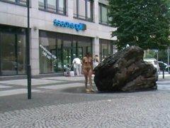 Butt Naked Public Walk