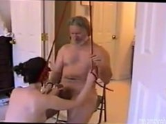 Nasty Milf Gets Tied Up