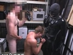 Straight boy fucked in jail gay Dungeon tormentor with a gimp