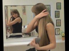 Long Hair, Hair, Hair Brushing