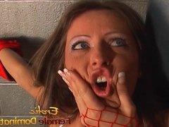 Lusty playgirl Nikki Hunter pleasures her hot girlfriends