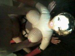 Doll Fucking Wearing Members Dirty Thong